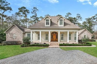 Covington LA Single Family Home For Sale: $1,385,000