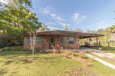 Slidell Single Family Home For Sale: 34050 Live Oak Lane
