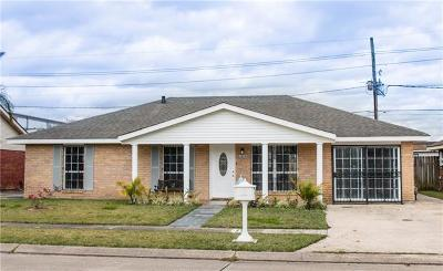 Marrero Single Family Home For Sale: 3004 Mt Kennedy Drive