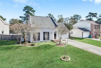 Slidell Single Family Home For Sale: 120 W Chamale Cove
