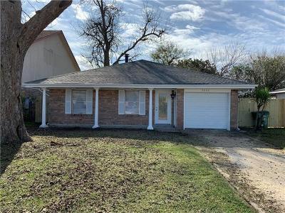 Marrero Single Family Home For Sale: 5008 Oak Bayou Avenue