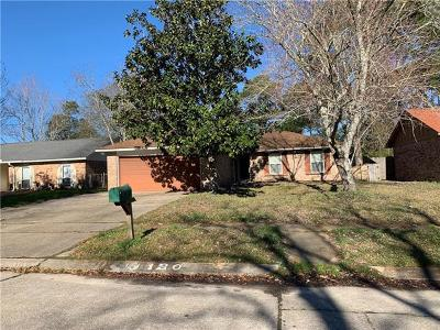 Slidell Single Family Home For Sale: 120 Trafalgar Square