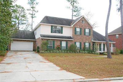 Slidell Single Family Home For Sale: 110 Turtle Creek Boulevard