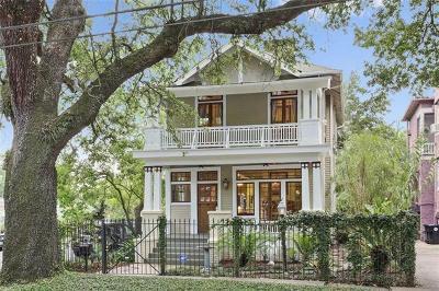 Single Family Home For Sale: 1637 S Carrollton Avenue