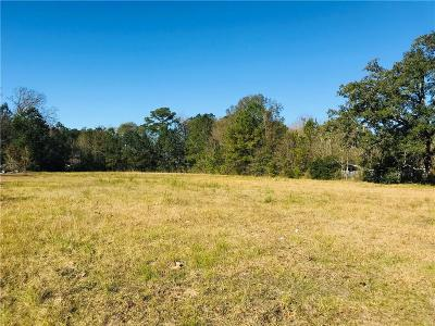 Slidell Residential Lots & Land For Sale: 59128 Pearl Street