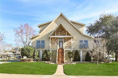 Slidell Single Family Home For Sale: 1076 Peninsula Drive