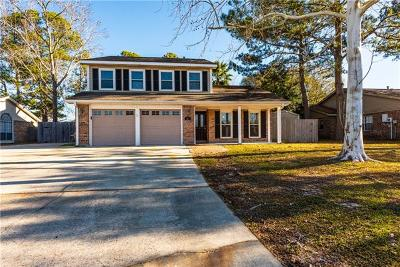 Slidell Single Family Home For Sale: 107 Silverwood Drive