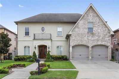 Kenner Single Family Home For Sale: 4144 Bayou Savage Drive