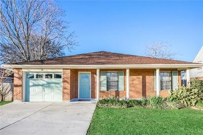Kenner Single Family Home For Sale: 4 Cocodrie Court