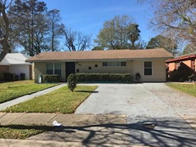 New Orleans Single Family Home For Sale: 1525 Kabel Drive
