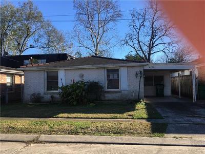 Jefferson Single Family Home For Sale: 4408 Ellen Street