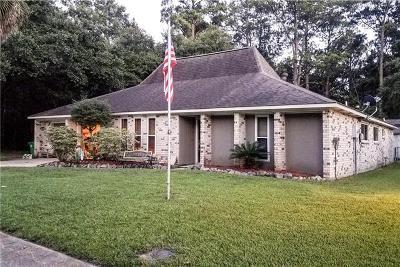 Slidell Single Family Home For Sale: 529 Poplar Drive