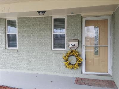 Single Family Home For Sale: 8741 Dunn Street