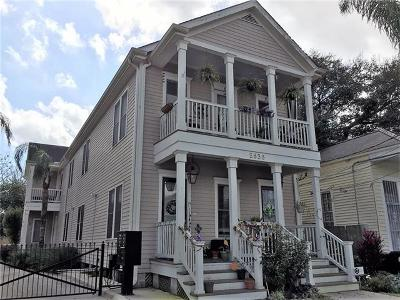 New Orleans Multi Family Home For Sale: 2836 Constance Street #F