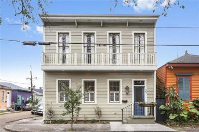 New Orleans Single Family Home For Sale: 447 Seventh Street