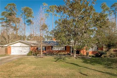 Slidell Single Family Home For Sale: 416 Country Club Boulevard