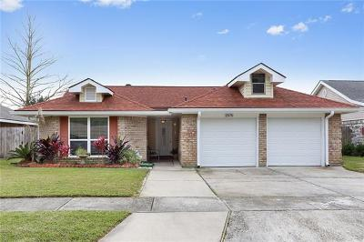 Marrero Single Family Home For Sale: 2576 Long Branch Drive