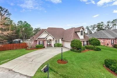 Madisonville LA Single Family Home For Sale: $285,000