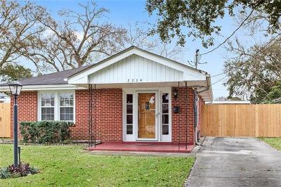 Kenner Single Family Home For Sale: 2204 Illinois Avenue