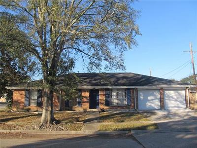 New Orleans Single Family Home For Sale: 4100 Fiesta Drive