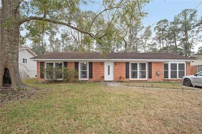Slidell Single Family Home For Sale: 1357 Westlawn Drive
