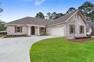 Slidell Single Family Home For Sale: Lot 9 Alan Circle