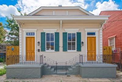 New Orleans Single Family Home For Sale: 826 N Rocheblave Street