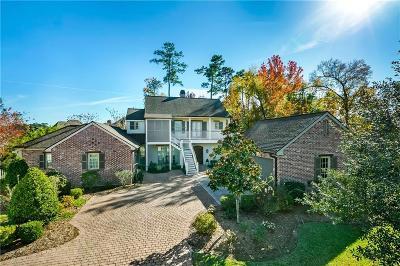 Mandeville Single Family Home For Sale: 98 Palmetto Court