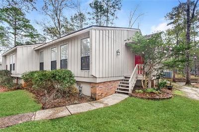 Mandeville LA Townhouse For Sale: $189,900