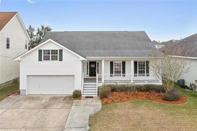 Destrehan Single Family Home For Sale: 314 Nottaway Drive