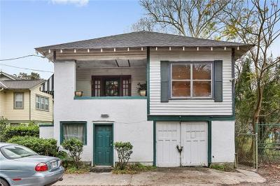 New Orleans Single Family Home For Sale: 1229 Adams Street
