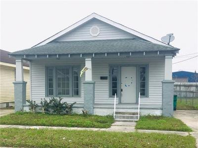 Marrero Single Family Home For Sale: 7412 Claremont Drive