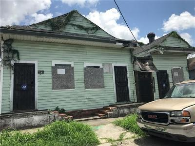 New Orleans Multi Family Home For Sale: 2508 S Prieur Street