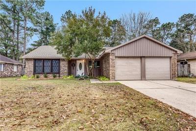 Slidell Single Family Home For Sale: 205 Lake Tahoe Drive