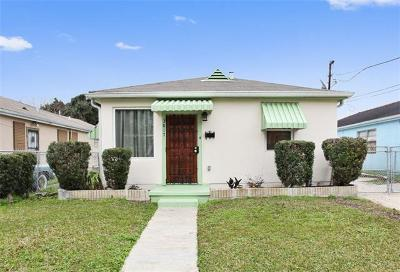 New Orleans Single Family Home For Sale: 3817 Hamburg Street