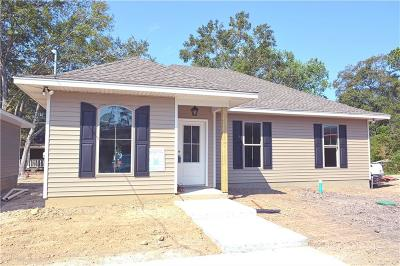Slidell Single Family Home For Sale: Lot 10 Beth Drive