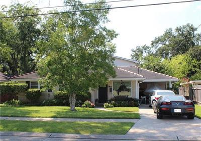 River Ridge, Harahan Single Family Home For Sale: 148 Lee Court