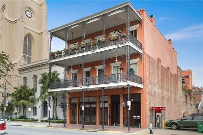 Jefferson Parish, Orleans Parish Condo For Sale: 730 Camp Street #3