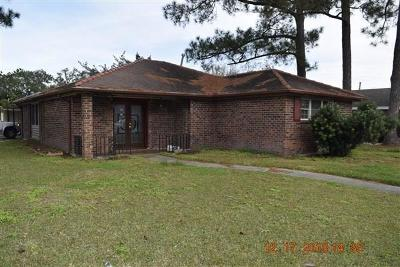 Single Family Home For Sale: 7841 Ebbtide Drive