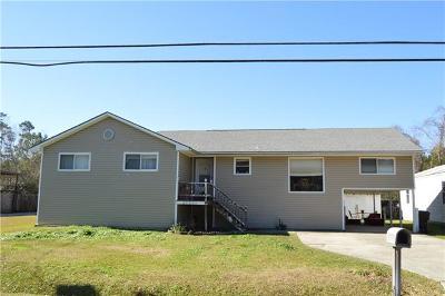 Slidell Single Family Home For Sale: 57521 Nunez Road
