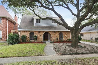 Kenner Single Family Home For Sale: 4128 Montrachet Drive