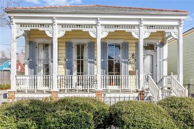 Single Family Home For Sale: 817 Antonine Street