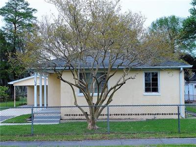New Orleans Single Family Home For Sale: 1540 Shirley Drive