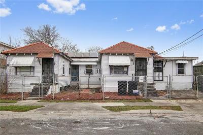 New Orleans Multi Family Home For Sale: 4123 Marais Street