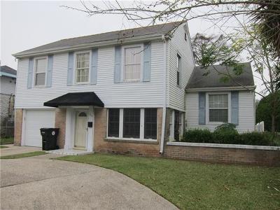 New Orleans Single Family Home For Sale: 1519 Bodenger Boulevard