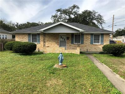 Kenner Single Family Home For Sale: 913 Clay Street