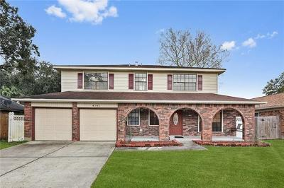 Kenner Single Family Home For Sale: 4141 Beaune Drive