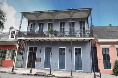 French Quarter Multi Family Home For Sale: 718 Barracks Street #7