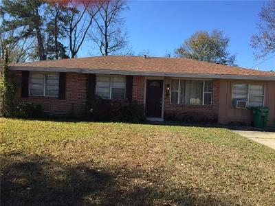Slidell Single Family Home For Sale: 211 Mockingbird Lane