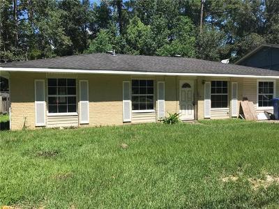 Slidell Single Family Home For Sale: 1128 Tupelo Street